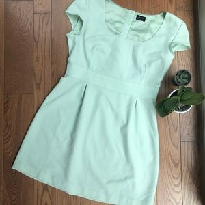 BARDOT: Mint Green Babydoll Dress